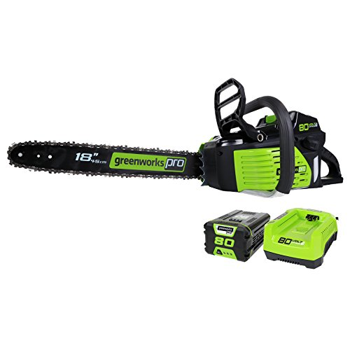 Greenworks Pro Gcs80420 Cordless Chainsaw Review Electric Chainsaw